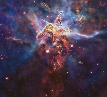 Carina Nebula / Mystic Mountain by Denise Giffin