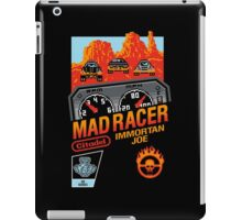 MAD RACER iPad Case/Skin