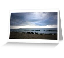 Wildnerness Beach Storm - Puerto Rico Greeting Card
