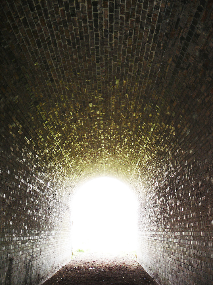 Light at the end of the tunnel by HappenstanceUK