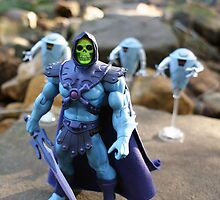 Masters of the Universe Classics - Skeletor & Hoverbots by GskullWarrior