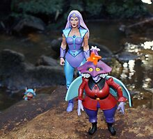 Masters of the Universe Classics - Glimmer & Madame Razz by GskullWarrior