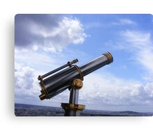 TOURIST TELESCOPE Canvas Print