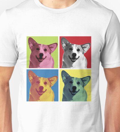 Pop Art Corgi Unisex T-Shirt
