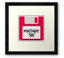 floppy mixtape Framed Print