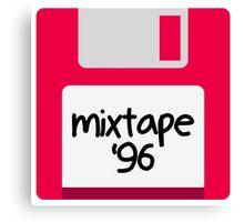 floppy mixtape Canvas Print