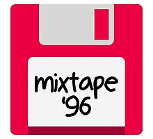 floppy mixtape Photographic Print