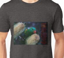Even The Birds He Gives Provision For Unisex T-Shirt