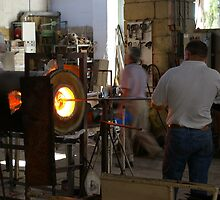 Ornamental Glass making in Malta by Jon Lees