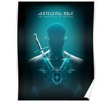 Axtelera Ray - Blue Poster