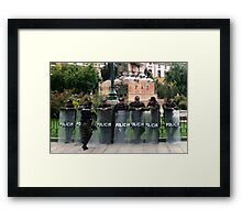 People 2616 (La Paz, Bolivia) Framed Print