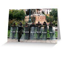 People 2616 (La Paz, Bolivia) Greeting Card
