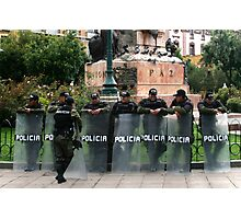 People 2616 (La Paz, Bolivia) Photographic Print