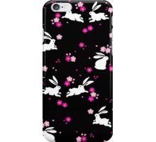Japanese Bunny - Pink iPhone Case/Skin