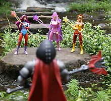 Masters of the Universe Classics - Hordak vs The Star Sisters by GskullWarrior