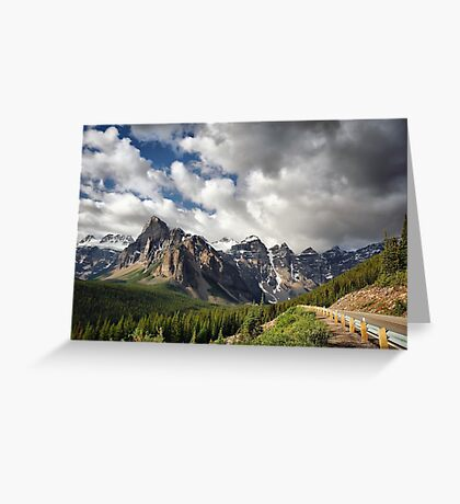 Valley of the Ten Peaks, Banff NP Greeting Card