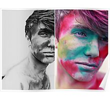 Paint yourself Colourful Poster