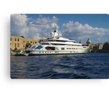 Pelorus - super yacht Canvas Print