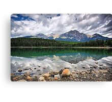 Patricia Lake, Jasper NP Canvas Print