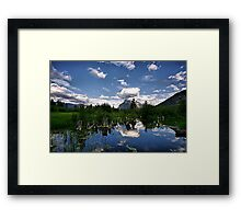 Vermillion Lakes, Banff NP Framed Print