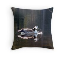 Water World - Sunbathing Throw Pillow