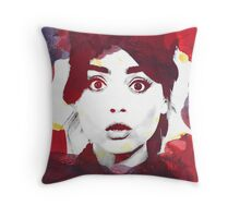 The Impossible Clara Throw Pillow