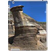 Hoodoos, Drumheller, Alberta, Canada iPad Case/Skin