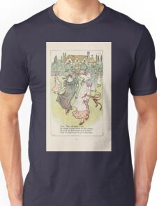 Mother Goose or the Old Nursery Rhymes by Kate Greenaway 1881 0055 Tom Tom the Piper's Son Unisex T-Shirt