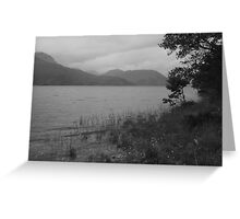 Loch Arkaig Greeting Card
