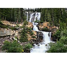Tangle Falls, Jasper National Park Photographic Print