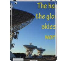The Heavens shall declare the glory of His Name iPad Case/Skin