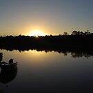 A new day at Worrell creek by Graham Mewburn