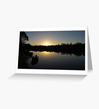 A new day at Worrell creek Greeting Card