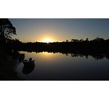 A new day at Worrell creek Photographic Print