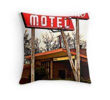 El Dorado Motel Throw Pillow
