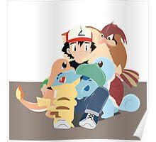 Ash & Pokemon Poster