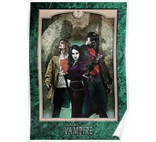 Lucita, Anatole & Theo Bell - Green Marble Poster