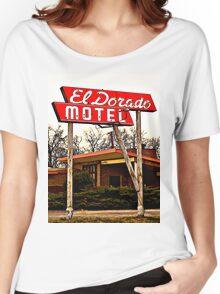 El Dorado Motel T-Shirt Women's Relaxed Fit T-Shirt