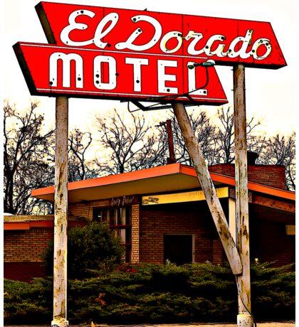 El Dorado Motel T-Shirt Sticker