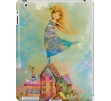 dancing on rooftops iPad Case/Skin