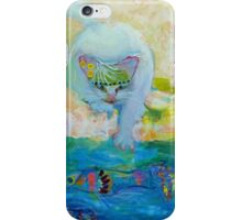 Two and Two: 2 cats, 2 fish iPhone Case/Skin