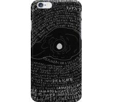 Specimen no.6 iPhone Case/Skin