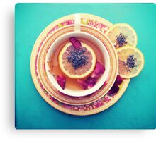 Lemon Tea Canvas Print