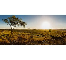 Sunset over the Ord Valley, Western Australia Photographic Print