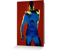 Marvel Men 01 Greeting Card