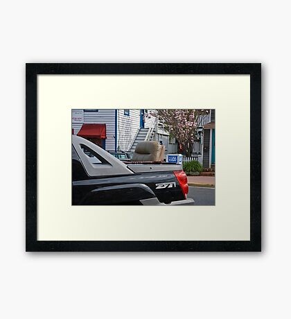 Rumble Seat? Framed Print