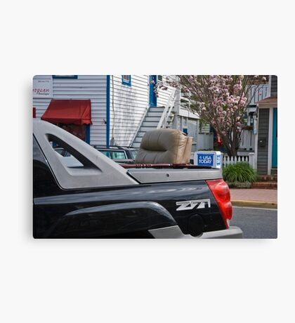 Rumble Seat? Canvas Print