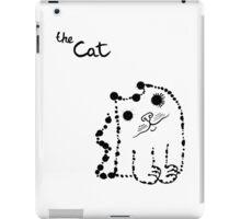 Ink splashes cat iPad Case/Skin