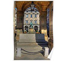 Edinburgh Stone of Remembrance Poster