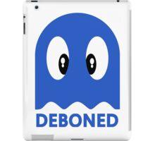 Deboned ghost - BLUE iPad Case/Skin